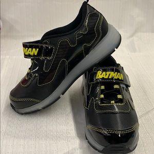 Batman Velcro Light Up Sneakers